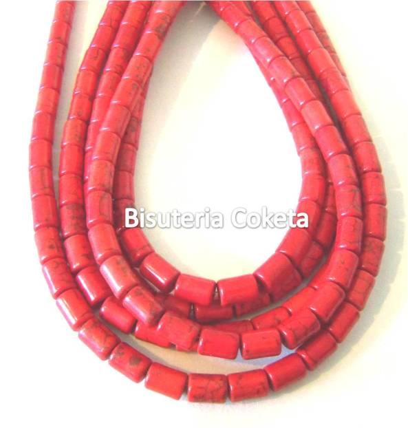 Turquesinas rojas en forma de Barril