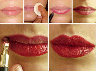 Aprende a maquillarte los labios!!!