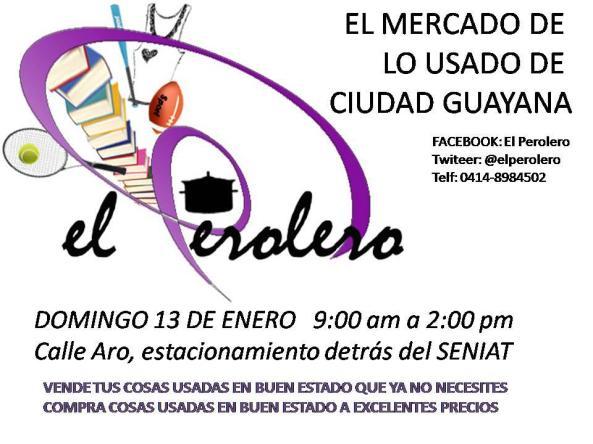 Queremos invitarlos a visitarnos en el Perolero este Domingo 13 de Enero