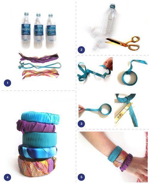 Realiza estas pulseras... super fácil!!!