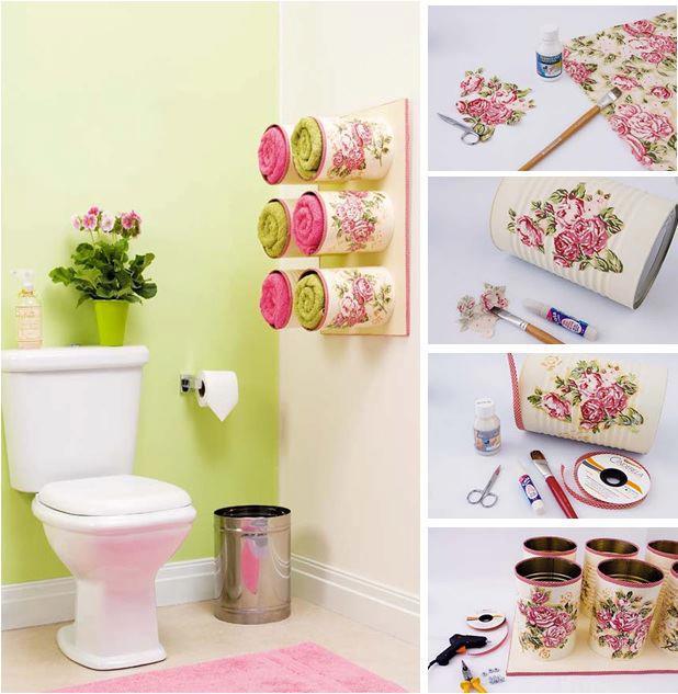 Ideas para decorar tu baño!!