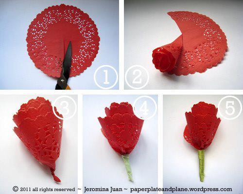 Ideas para hacer Flores de tela