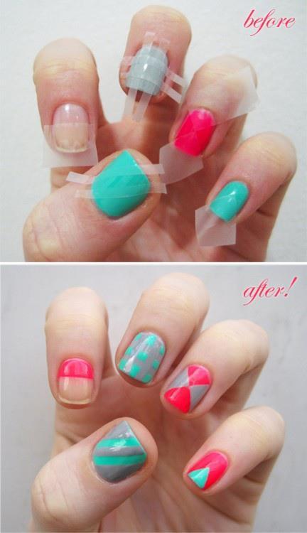 Ideas para pintar tus uñas!!!