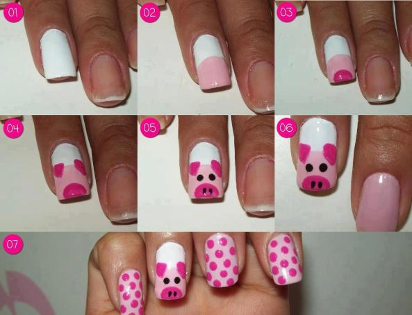Decora tus uñas así!!!