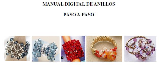 Manual, Pasos, paso, realizar, anillos, swarovski, cristales, checos, tutoriales