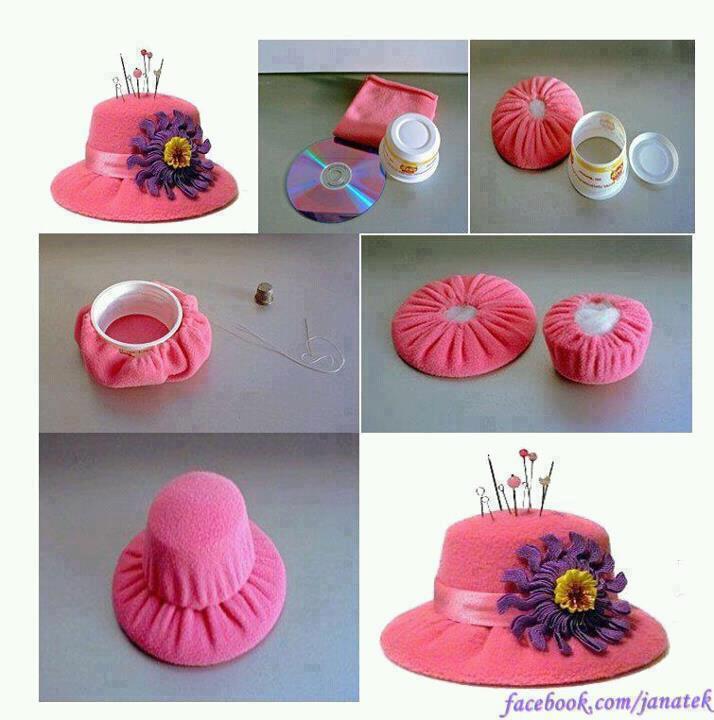 Paso a paso para hacer un sombrero Filetero.