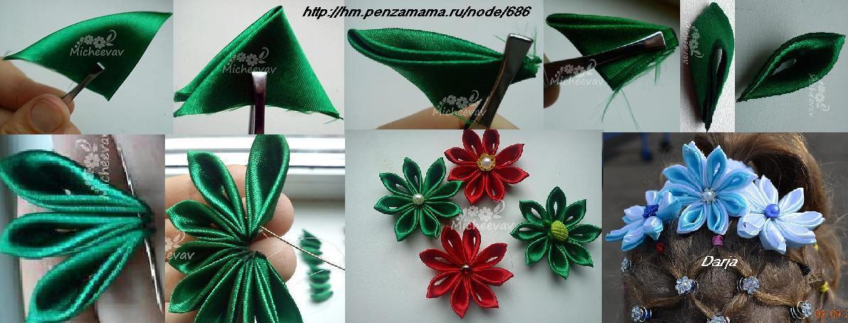Ideas para hacer flores de tela bisuteria coketa - Ideas para hacer cuadros con telas ...