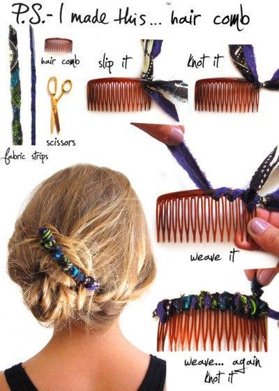 Ideas para decorar tus Ganchos de Pelo