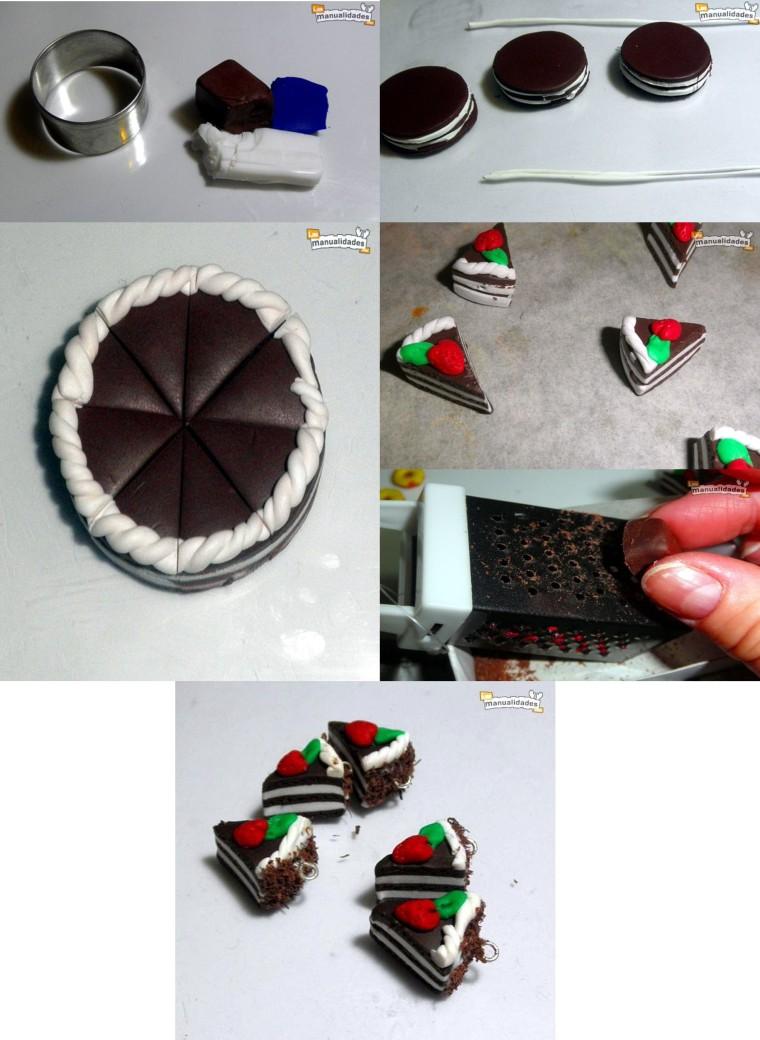 Paso a paso para realizar pedacitos de torta en Masa Flexible