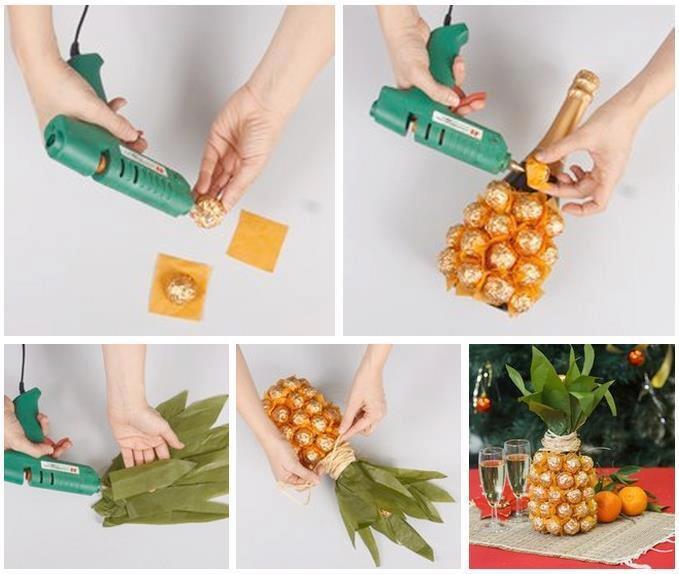 Ideas para decorar una botella bisuteria coketa - Ideas para decorar botellas ...