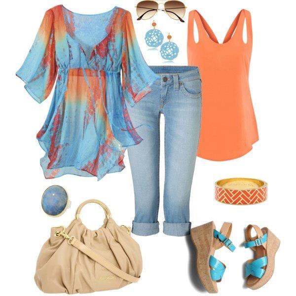 Ideas para vestirte. Combinación de Ropa. Outfit.   Bisuteria Coketa