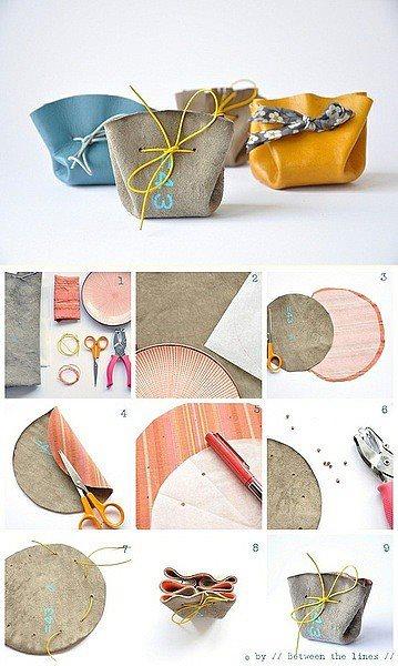 Ideas para hacer bolsitas de regalo
