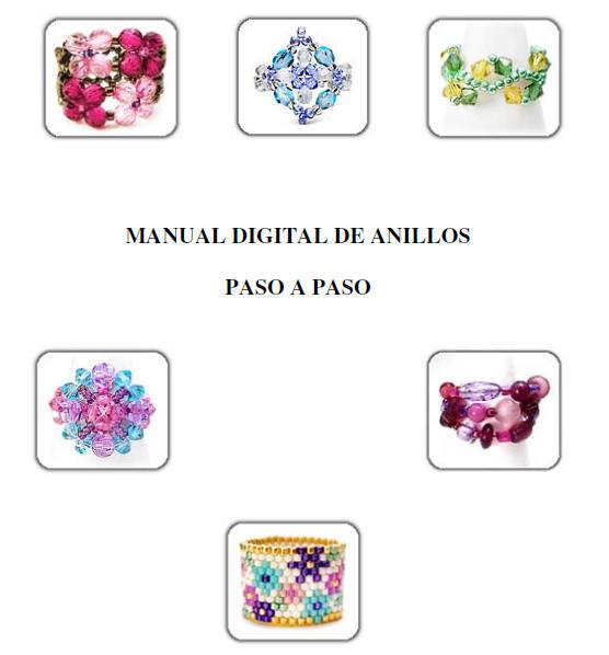 Manual, anillos, paso a paso, tutorial, diy, swarovski, cristales