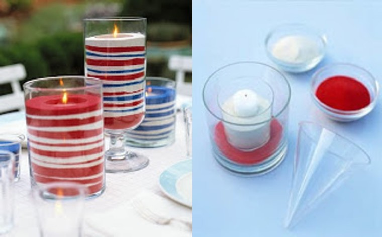 Ideas para decorar con Velas.