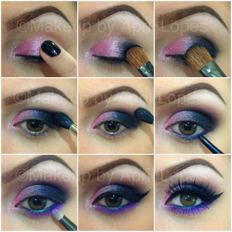 Paso a paso para maquillaje de ojos