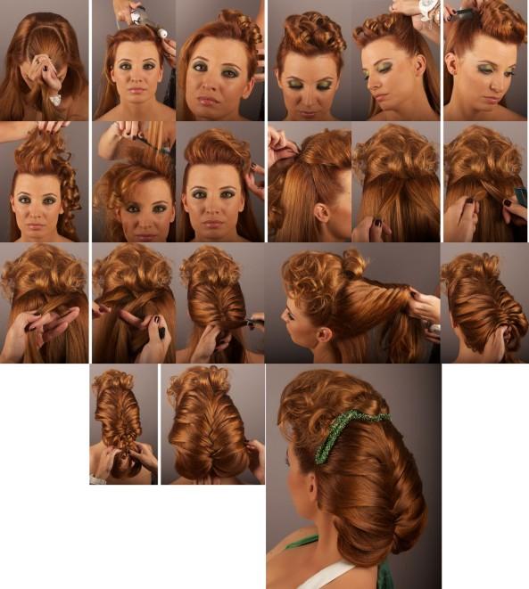 Ideas para un Peinado super elegante.