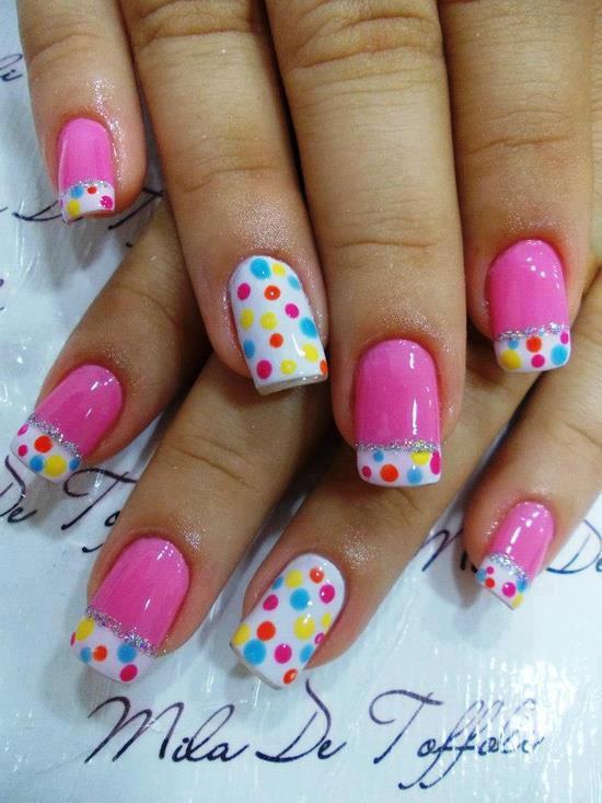 Uñas decoradas 2015 - ModaEllas.com