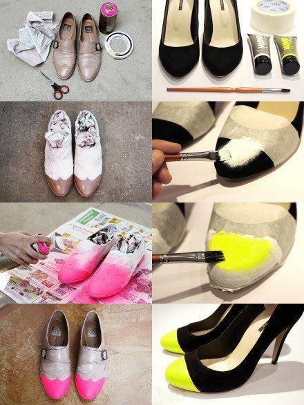 Ideas para decorar tus zapatos