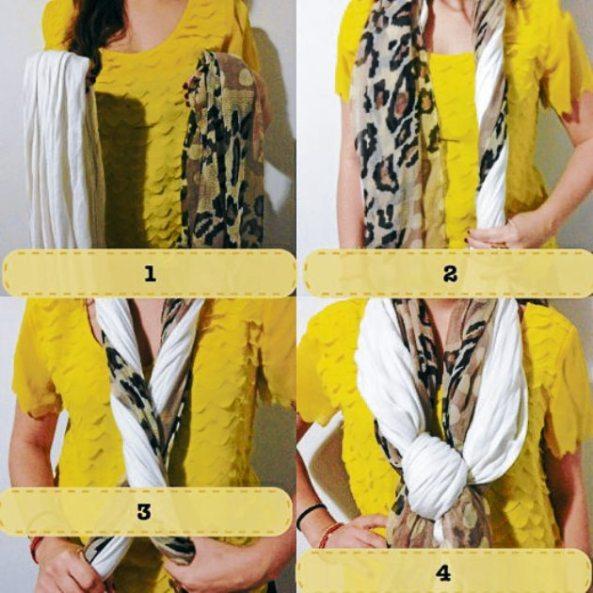 Ideas para usar tu Bufanda