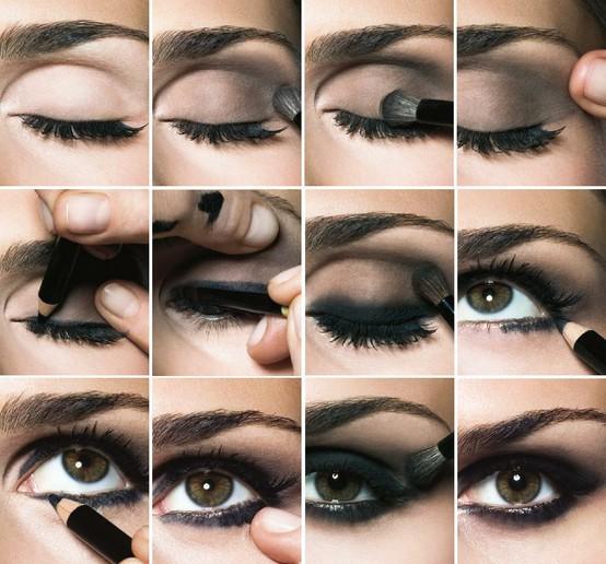 Paso a paso para un maquillaje de ojos ahumados