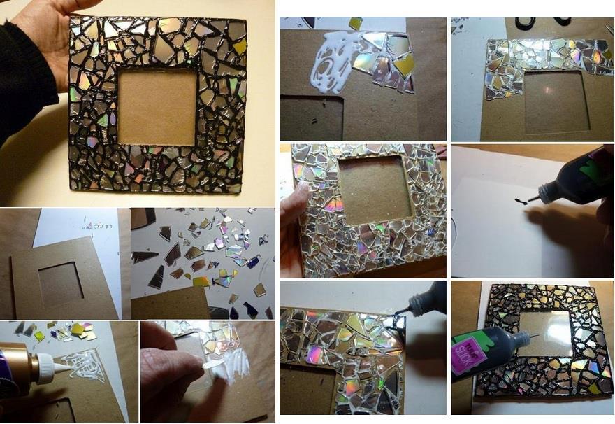 Ideas para hacer un marco de fotos bisuteria coketa - Como hacer un marco para un cuadro ...