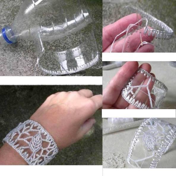 Ideas paso a paso para hacer este hermoso brazalete.
