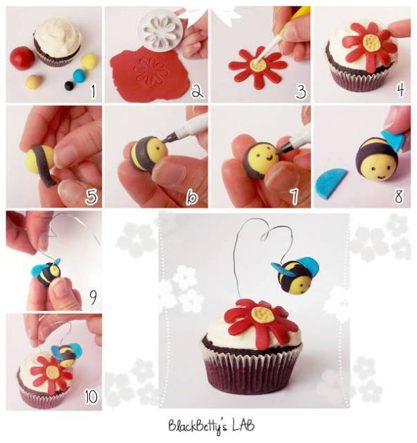 Ideas para decorar los cupcakes