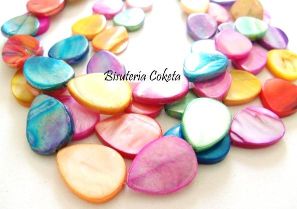 Gotas de Nácar de colores