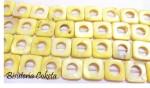 Cuadros de nacar amarillos