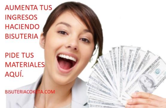 Aumenta tus ingresos dinero