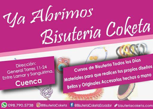 tienda bisuteria coketa cuenca ecuador
