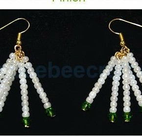 7ff4d8636 Bisuteria PASO A PASO para hacer estos lindos aretes! DIY Handmade earrings.